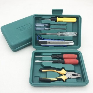 [ GIẢM SỐC 10K ] Bộ dụng cụ 8 món tua vít nguyên hộp cực kì tiện lợi cho gia đình - dụng cụ sửa chữa đa năng thumbnail