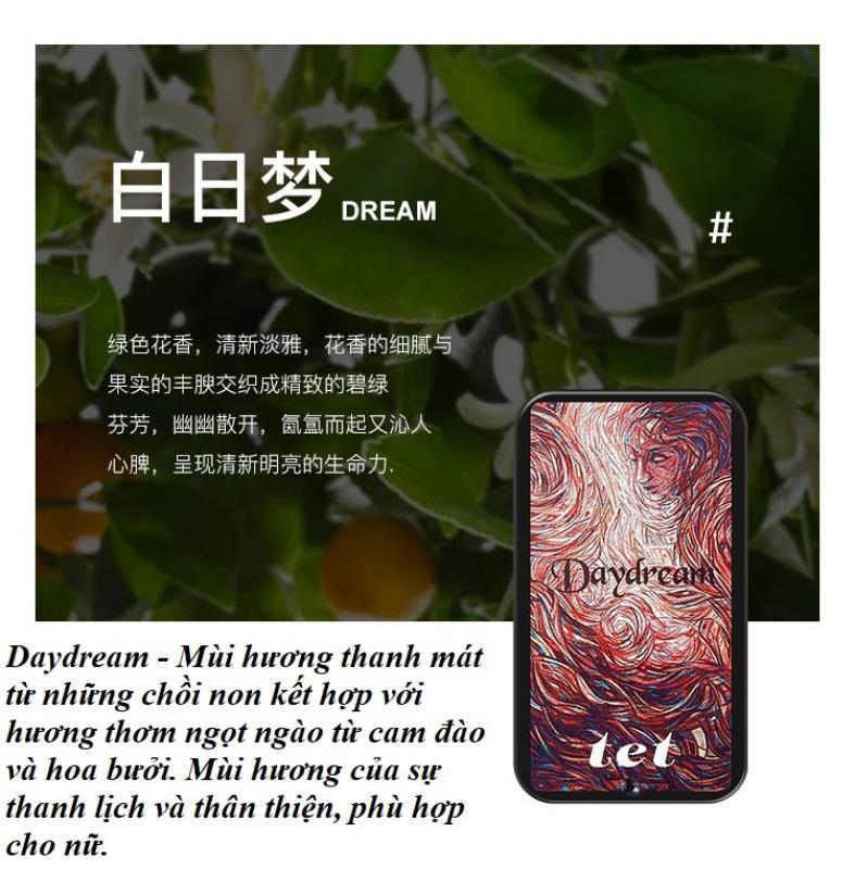 Nước Hoa Sáp Khô TET- Elyse HongKong Có 4 Mùi Hương Tinh Tế, Quyến Rũ Cho Cả Nam Và Nữ Kèm Hộp Đựng Cao Cấp, Sang Trọng nhập khẩu