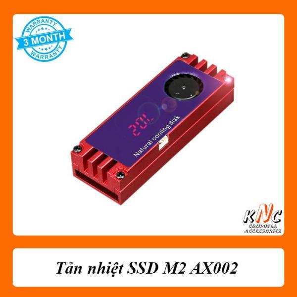 Giá Tản nhiệt SSD M2 AX002 Có quạt kèm đồng hồ cảm biến