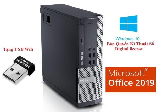 Máy tính đồng bộ Dell Optiplex 7010 Core i7 3770, Ram 8GB, SSD 256GB - Tặng USB wifi + di chuột- Hàng nhập khẩu