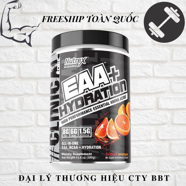 NUTREX EAA+ HYDRATION, BCAA PHỤC HỒI TRONG TẬP - 30 LIỀU DÙNG