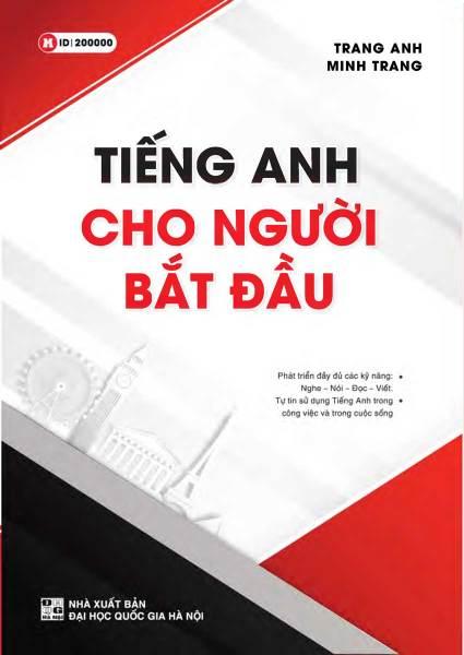 Sách Tiếng Anh Cho Người Bắt Đầu (Trang Anh) - Newshop