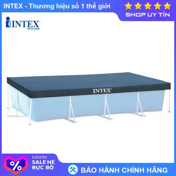 Tấm phủ bể khung kim loại chữ nhật Intex 28038 - INTEX Việt Nam