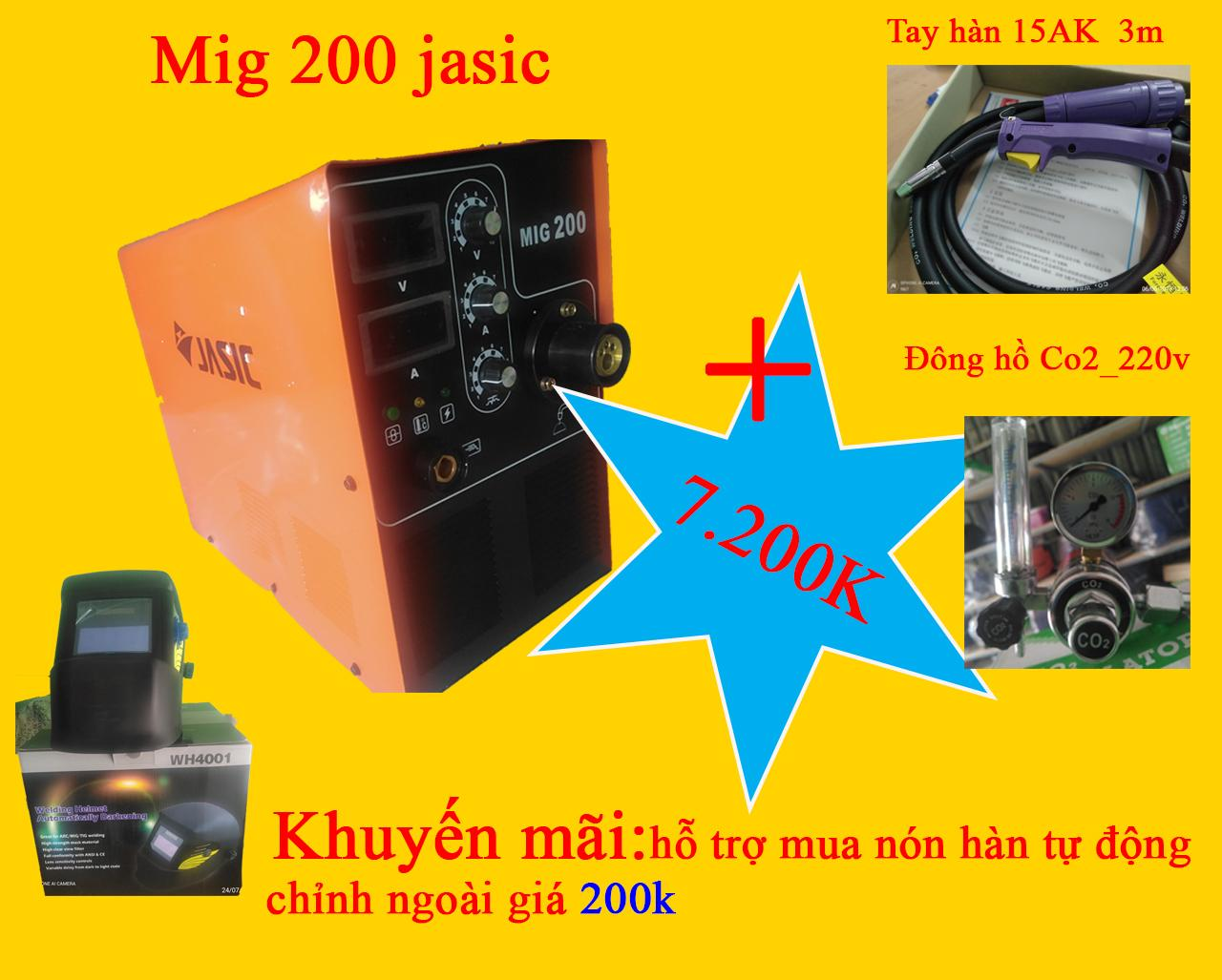 Hàn Mig 200-jasic