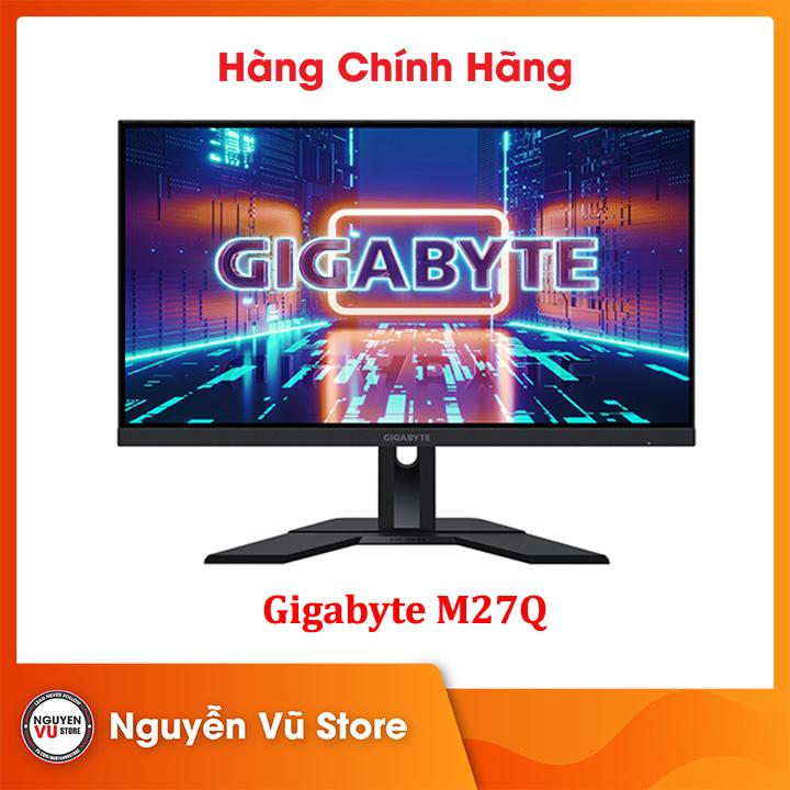 Màn Hình Gaming Gigabyte M27Q 27″/QHD/IPS/170Hz/0.5ms - Hàng Chính Hãng