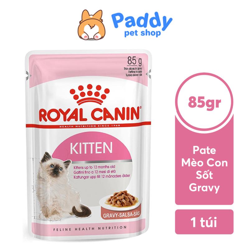 [HCM]Pate Cho Mèo Con Royal Canin Kitten Gravy Dạng Sốt 85g