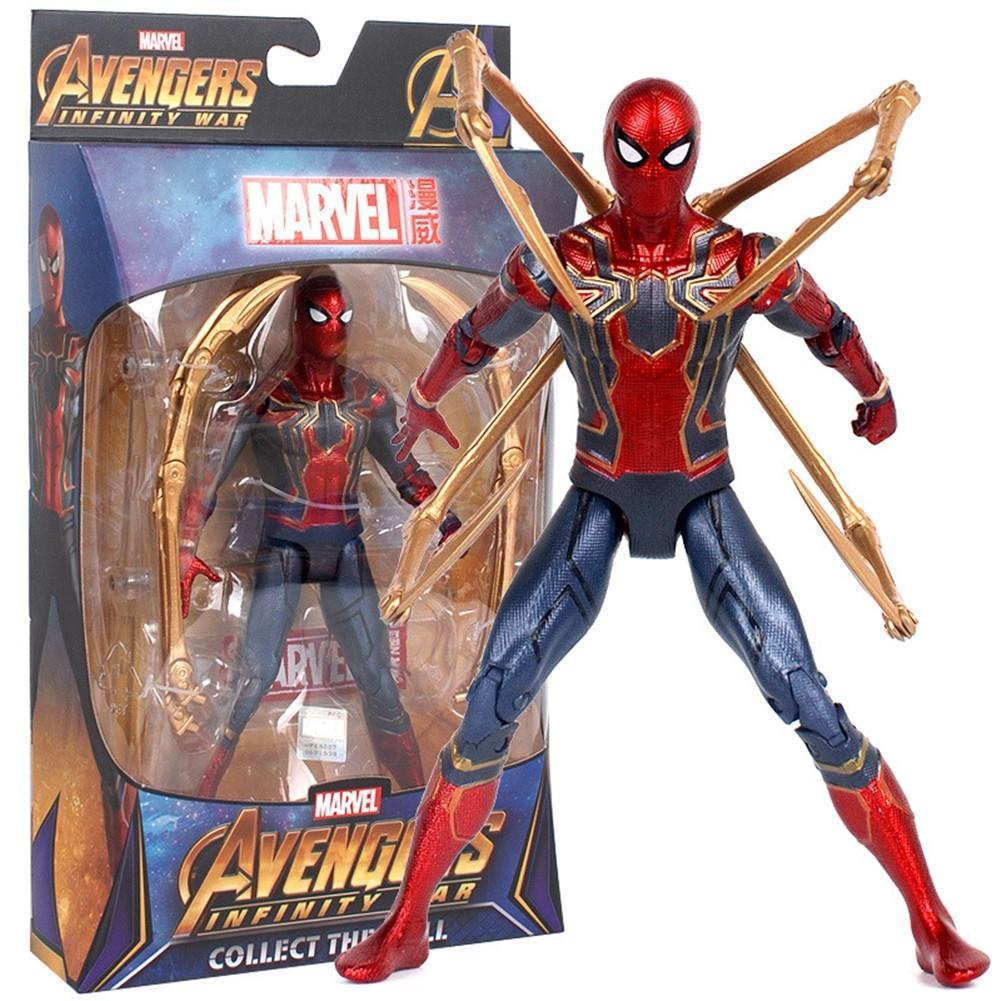 Mô hình người nhện Avenger Infinity War Marvel - Có đế trưng bày