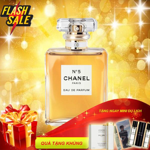 Nước Hoa Chanel, Nước Hoa Chanel N5 Vàng EDP 100ml-Bill Pháp [ Chính Hãng ]