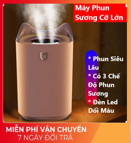 Bảng giá Máy Phun Sương Cỡ Lớn K7 Kiêm Đèn Xông Tinh Dầu Có Đèn Led Đổi Màu, Tạo Độ Ẩm Phòng Điều Hòa Siêu Tốt, Làm Mát Không Khí Dung Tích 3L - XSmart Điện máy Pico