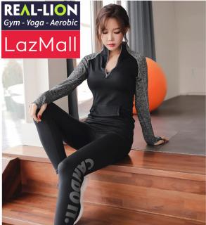 Áo khoác thể thao nữ REAL-LION tập thể dục, Gym, Yoga, Aerobic - Áo khoác tập gym nữ thời trang Hàn Quốc - Áo khoác thể thao nữ tập thể dục, Gym, Yoga, Aerobic - RL20 thumbnail