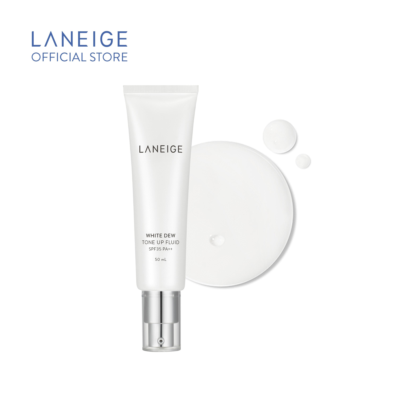 Sữa Dưỡng Nâng Tông Da Và Chống Nắng Laneige White Dew Tone-Up Fluid Cream 50Ml