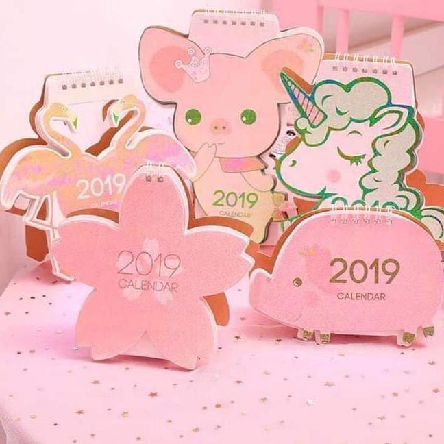 Mua Lịch 2019 hình cute