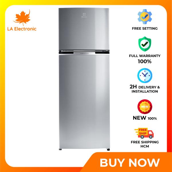 Trả Góp 0% - Tủ Lạnh Electrolux ETB3400J-A 320 lít Inverter - Miễn phí vận chuyển HCM