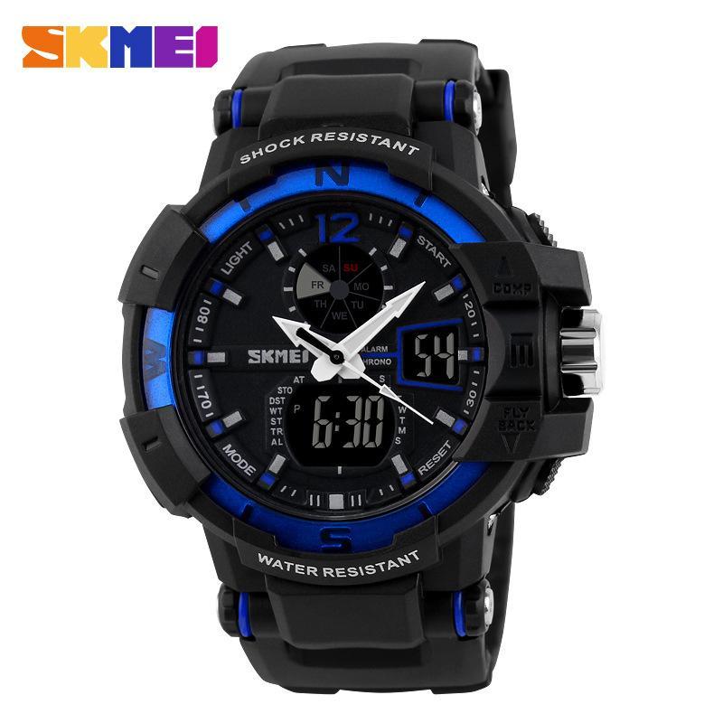 Nơi bán (Cập nhật 2019)Đồng hồ thể thao nam điện tử Skmei 1040 có đèn Led xem vào buổi tối