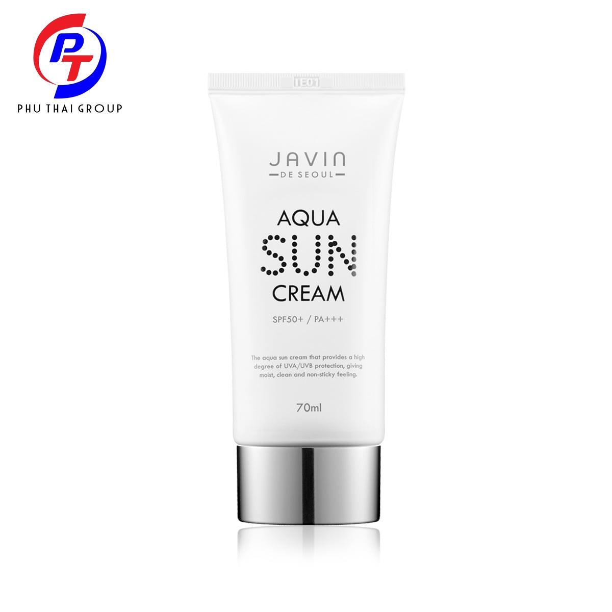 Kem Chống Nắng Javin De Seoul Aqua Sun Cream tốt nhất