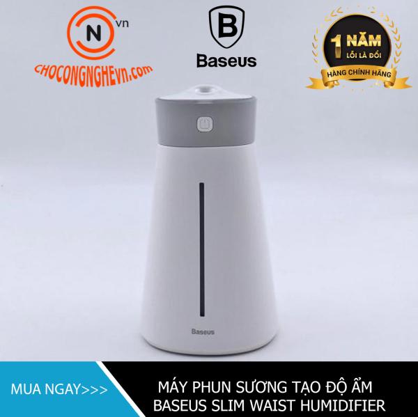 🌟CHÍNH HÃNG🌟 Máy phun sương, tạo ẩm, lọc không khí Baseus Slim Waist humidifier (380ml, USB 5V, Ultrasonic Air Diffuser/ Humidifier