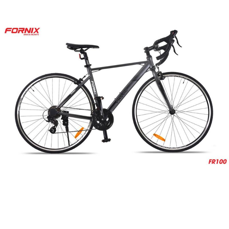 Mua Xe đạp đường trường thể thao đua FR100 màu ĐEN BẠC đẳng cấp
