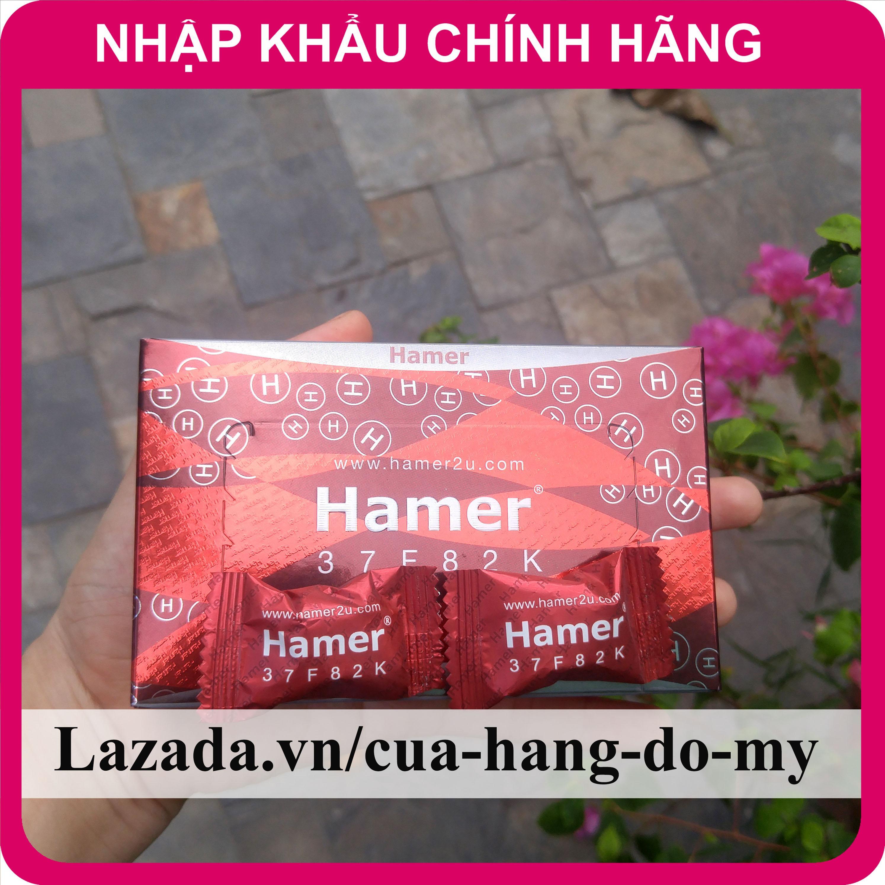 Kẹo Hamer Ginseng & Coffee Kẹo Sâm Cho Nam Giới tăng cường sức khỏe 1 hộp 30 viên nhập khẩu