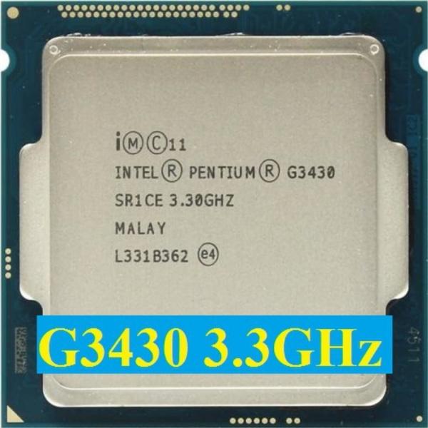 Bảng giá Bộ vi xử lý Intel CPU G3430 3.30GHz ,55w 2 lõi 4 luồng, 3MB Cache Socket Intel LGA 1150 Phong Vũ