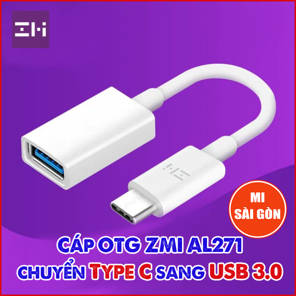 Bảng giá Cáp OTG ZMI AL271 chuyển từ Type C sang USB 3.0 Phong Vũ