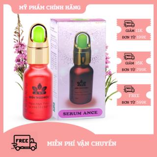 [HCM]Serum Ngừa mụn thâm - Giữ ẩm - Se khít lỗ chân lông Serum Acne SPF+++ Miền Thảo Mộc (15ml) thumbnail