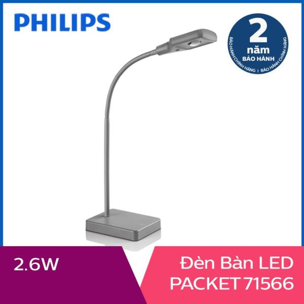 Đèn bàn Philips LED Packet 71566 2.6W