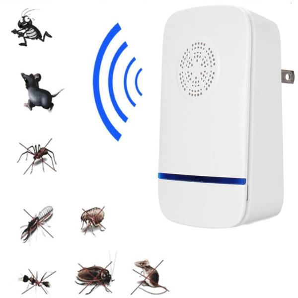 [HOT] Máy đuổi muỗi, côn trùng Repeller, Đuổi Chuột Bằng Sóng Siêu Âm Đuổi Muỗi, Côn Trùng Pests Rejects, Sát thủ đuổi muỗi dán chuột cao cấp, an toàn cho mọi người,dùng sóng âm đuổi côn trùng hiệu quả 100%