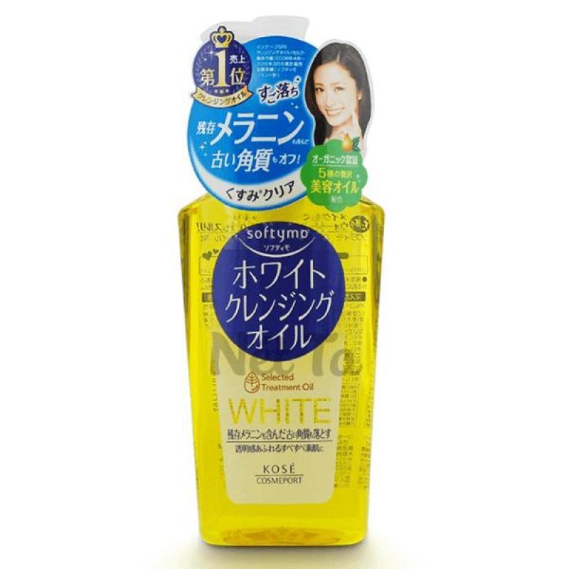 Dầu tẩy trang Kose Softymo White Cleansing Oil Nhật Bản cao cấp