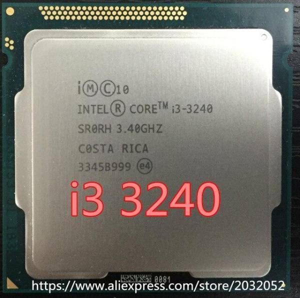 CPU Core I3 3240 Socket 1155