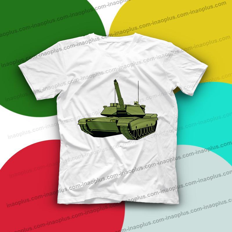Giá bán in áo hình xe tăng - 5 mẫu