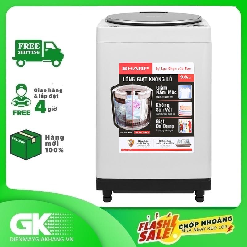 Bảng giá Máy giặt Sharp 9 kg ES-W90PV-H Mới 2020 Điện máy Pico