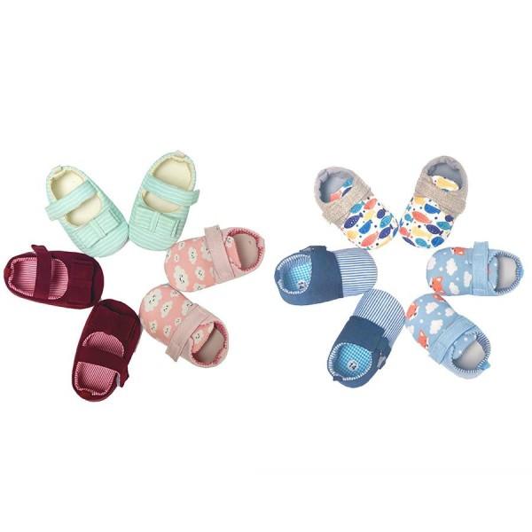 Giá bán Giày tập đi chống trơn trượt êm không đau chân dành cho bé trai và bé gái từ 0-18 tháng tuổi AmPrin