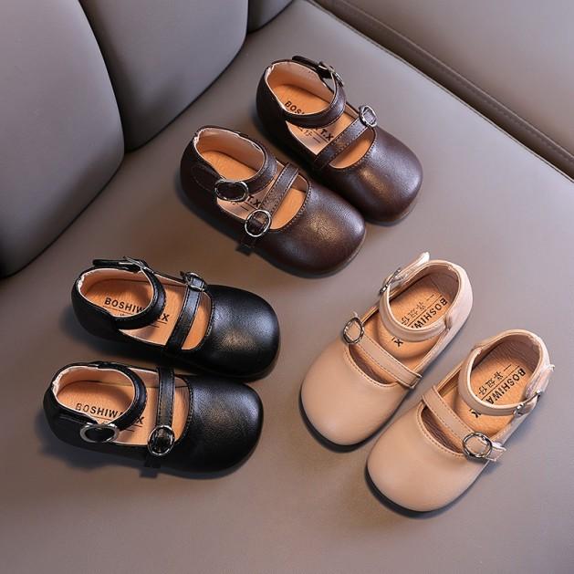 Giày búp bê xinh xắn cho bé gái 2-6 tuổi phong cách Hàn Quốc giá rẻ