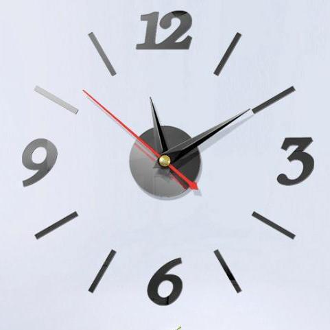 Nơi bán Đồng hồ dán tường + Pin - 40cm x 40cm - 3 màu - đồng hồ treo tường - Dh06