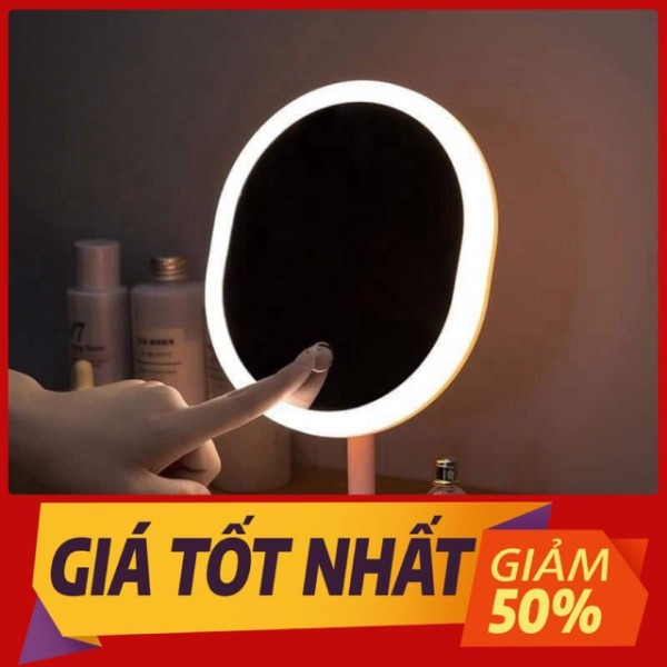 Gương soi trang điểm đèn led giá rẻ