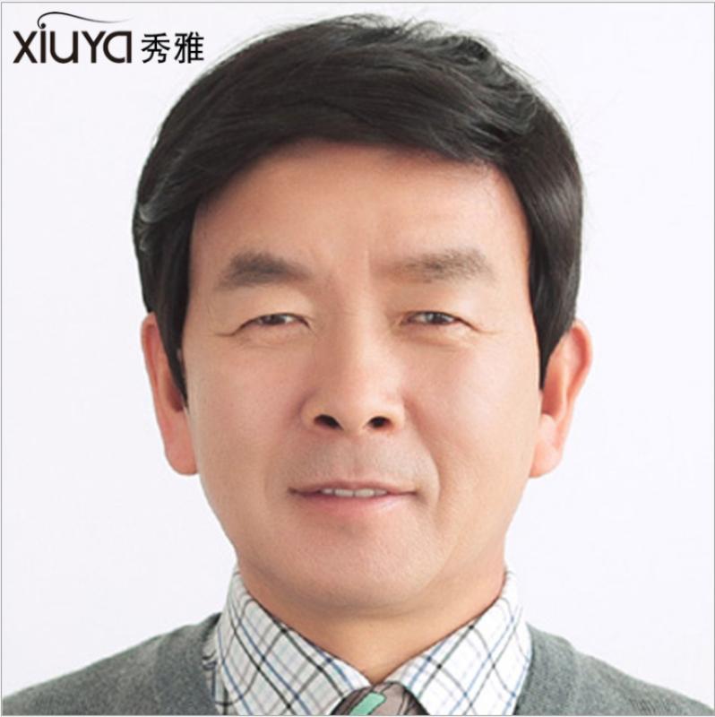 [TẶNG LƯỚI TRÙM] Tóc giả nam trung niên cao cấp Hàn Quốc - TG6412 ( MÀU ĐEN ) nhập khẩu