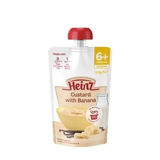 Nước uống dinh dưỡng dạng túi Heinz vị custard chuối cho bé từ 6 tháng tuổi túi 120g - Váng sữa dạng túi bổ sung dinh dưỡng cho bé Heinz nhập khẩu Úc - VTP mẹ và bé TXTP097 thumbnail