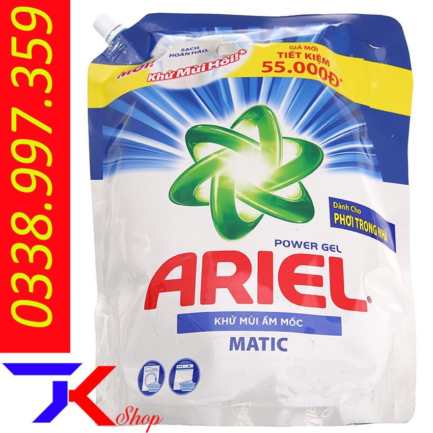 Cơ Hội Giá Tốt Để Sở Hữu Nước Giặt Ariel Matic Khử Mùi ẩm Mốc Túi 2.15kg