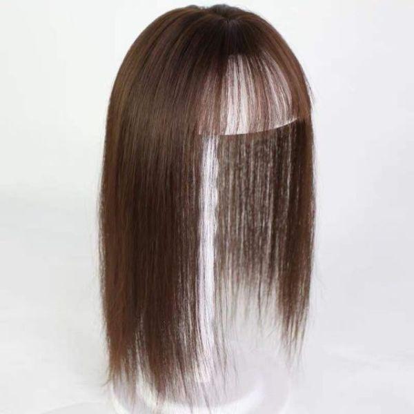 Tóc che hói nữ 💝FREESHIP💝 TÓC GIẢ che hói nữ có da đầu giá rẻ