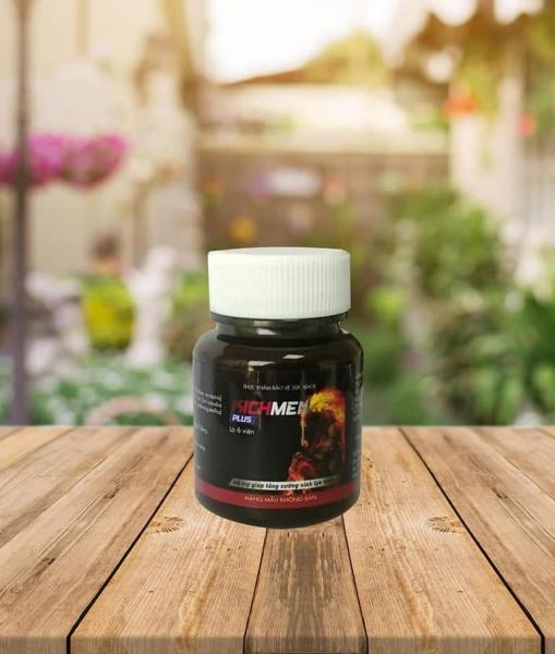 Kichmen Plus - Viên Uống Hỗ Trợ Tăng Cường Sinh Lý Nam - Hộp dùng thử 6 viên nhập khẩu