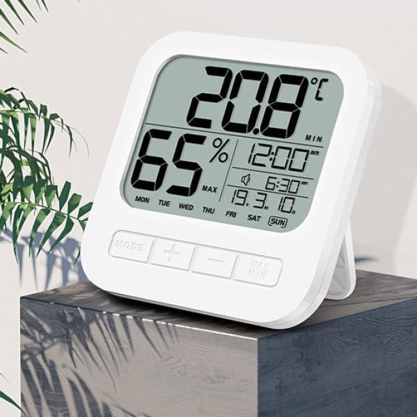 Nhiệt kế điện tử đo nhiệt độ và độ ẩm phòng ngủ cho bé, cam kết hàng đúng mô tả, sản xuất theo công nghệ hiện đại, an toàn cho người sử dụng cao cấp