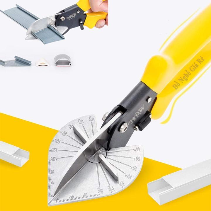 Kìm Kéo Cắt Đa Góc Nẹp Điện Máng Nhựa Đa Năng