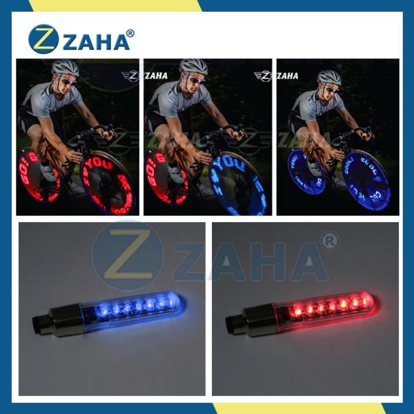[XEM VIDEO] Đèn led xe máy, đèn led trang trí [CHẠY CHỮ, HÌNH] gắn van xe đạp, xe máy, ô tô ZAHA (TC)