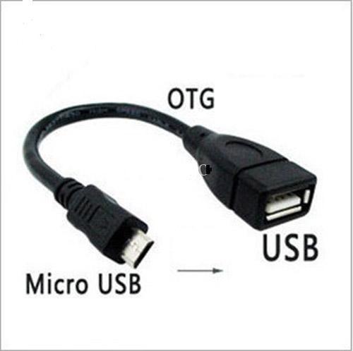 Cáp OTG chuyển micro USB sang USB 2.0