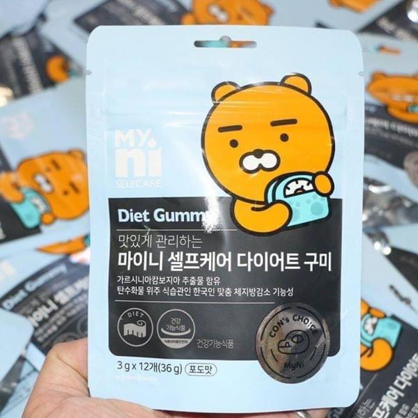 Kẹo Gấu giảm cân Diet Gummy cao cấp
