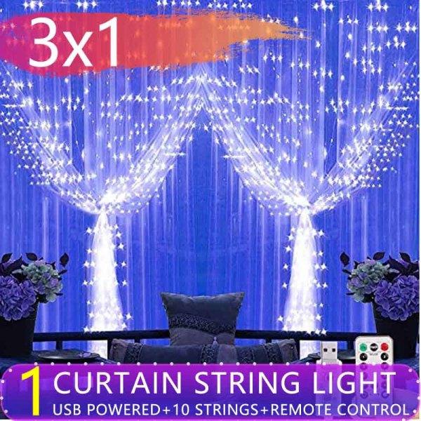 Bảng giá USB Đèn Tiên Với Chuỗi Ánh Sáng 8 Chế Độ Khiển Từ Xa IP64 Không Thấm Nước Trang Chủ Tiệc Giáng Sinh Đèn Trang Trí Đám Cưới Nguồn
