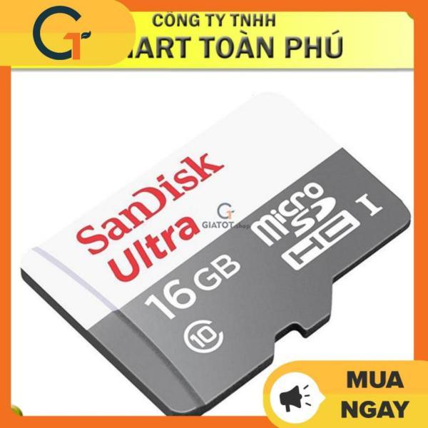 Thẻ nhớ SanDisk Ultra microSDHC Class10 80MB/s 16Gb cao cấp