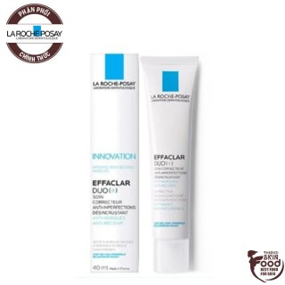 Kem Giảm Mụn La Roche Posay Effaclar Duo+ Corrective Unclogging Care Antiimperfections Anti-Marks Anti-Reoccurence 40ml thumbnail