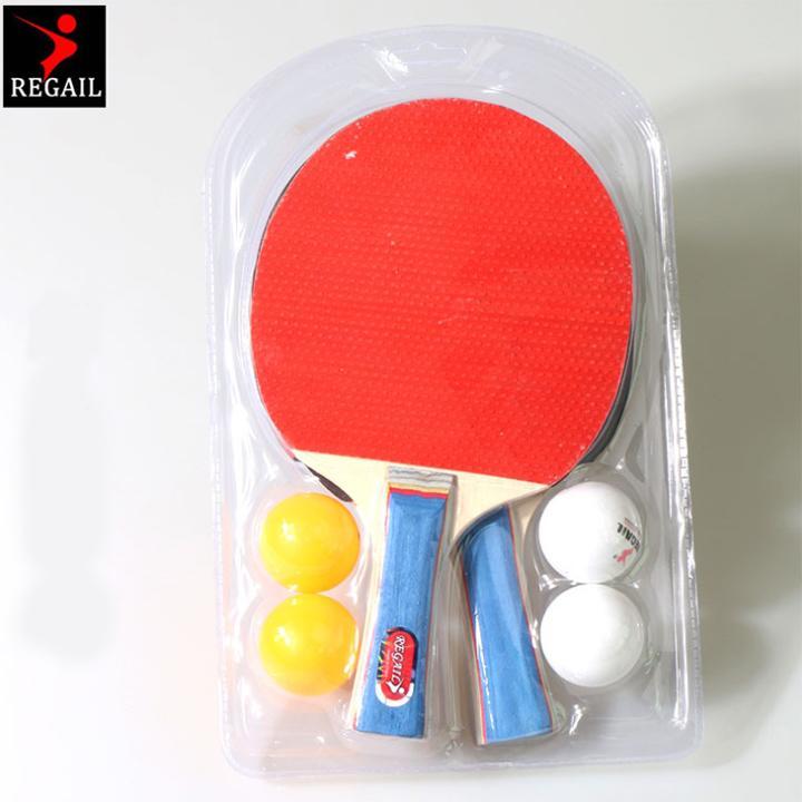 Bộ vợt bóng bàn sản phẩm của Regail ZY007 (1 đôi) Nhật Bản