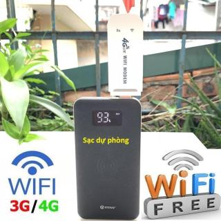 Dongle 4G LTE Phát Wifi Từ Sim - Usb Phát Wifi Cực Mạnh - Dùng Bền Cực Bền thumbnail